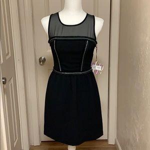 Princess Vera Wang Black Shear Dress